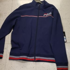 NWT FILA ZIP UP XL